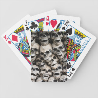 Pile Of Skulls Playing Cards