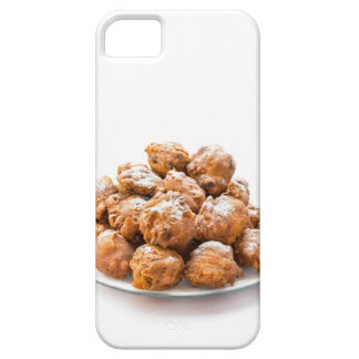 Pile of sugared oliebollen or fried fritters iPhone 5 cover