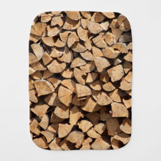 Pile Of Wood Burp Cloth