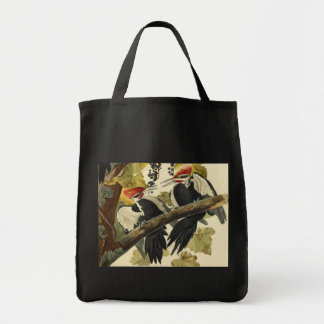 Pileated Woodpecker, John James Audubon Tote Bag