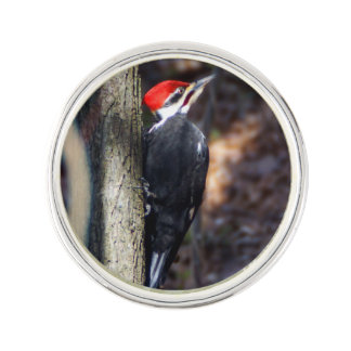 Pileated Woodpecker Lapel Pin