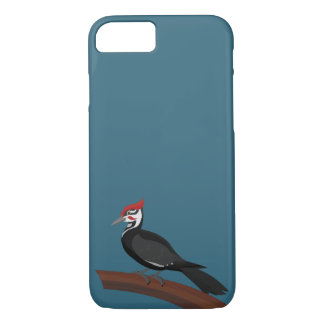 Pileated Woodpecker Vector Art iPhone Case