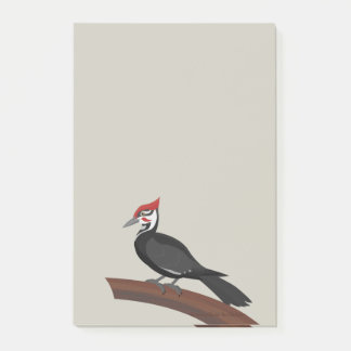 Pileated Woodpecker Vector Art Post-It Notes