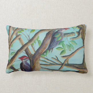PILEATED WOODPECKERS Pillow