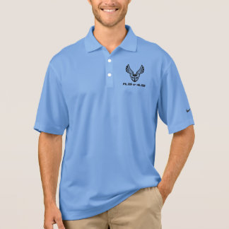Piles of Miles front pocket logo Polo Shirt