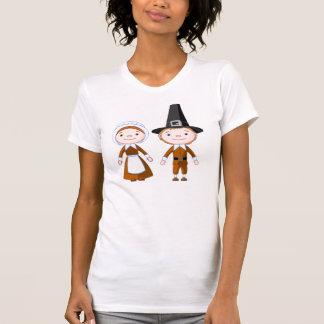 Pilgrim Couple Tshirts