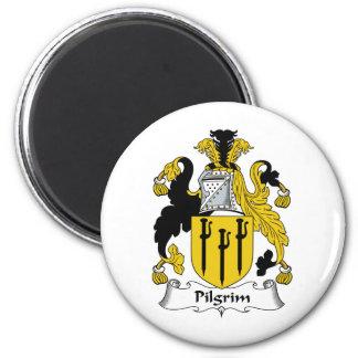 Pilgrim Family Crest Magnet