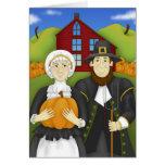 Pilgrim Harvest Greeting Card
