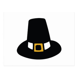 Pilgrim Hat Postcard