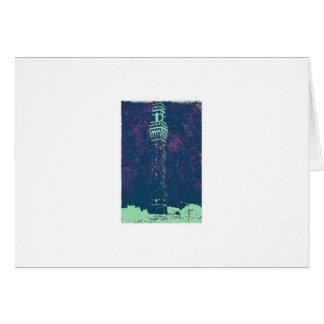 PILGRIM MONUMENT, PROVINCETOWN, MA. CARD