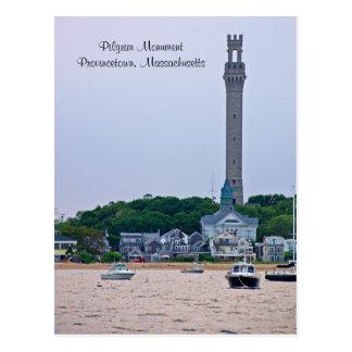 Pilgrim Monument Provincetown MA  Postcard