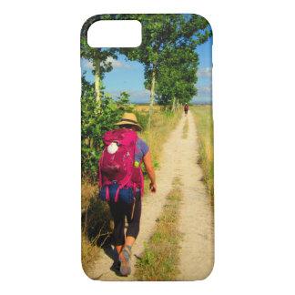 Pilgrim on the Camino iPhone 8/7 Case