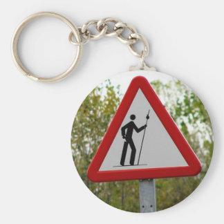 Pilgrim Sign Keychain