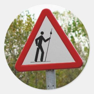 Pilgrim Sign Stickers