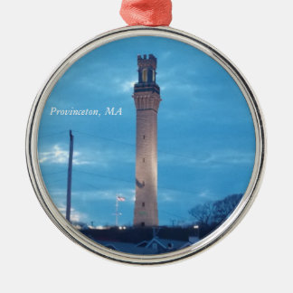 Pilgrim Tower, Provincetown, MA Ornament 1