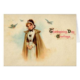 Pilgrim Woman Card