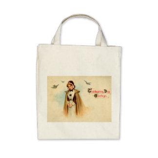Pilgrim Woman Organic Grocery Tote Bag