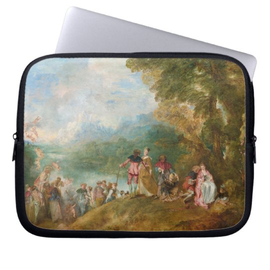 Pilgrimage to Cythera The Embarkation for Cythera Laptop Sleeve