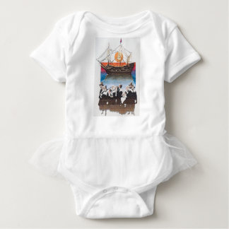 Pilgrims Baby Bodysuit
