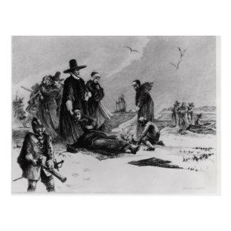 Pilgrims Postcard