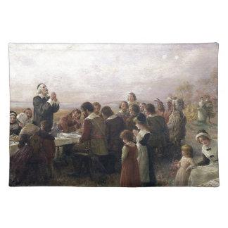 Pilgrims Thanksgiving Placemat