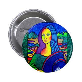 Piliero Mona Lisa 6 Cm Round Badge
