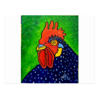 Piliero Rooster 6 Postcard