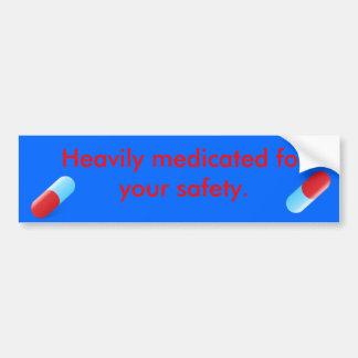 pill bumper sticker