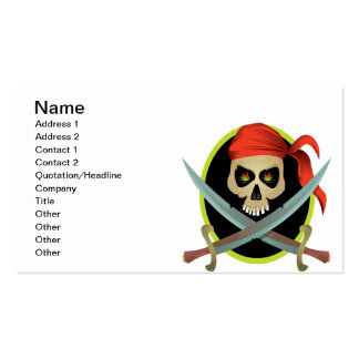 Pillage And Plunder Business Card