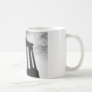 Pillar Silhouette Coffee Mug