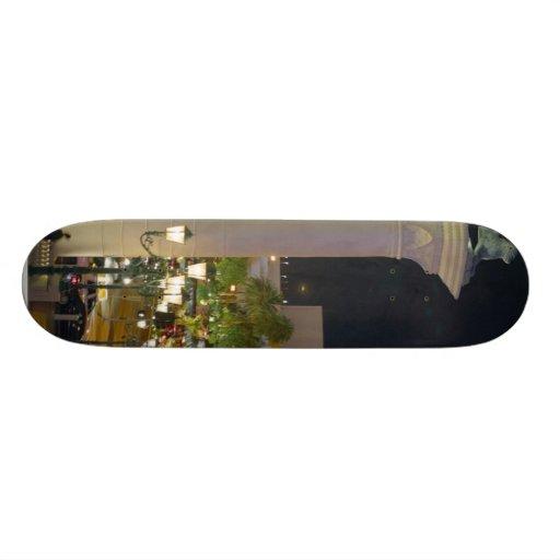 Pillars Las Vegas Night Venitian Custom Skateboard