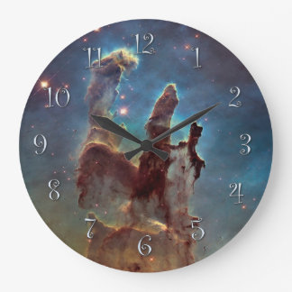 Pillars of Creation Large Clock