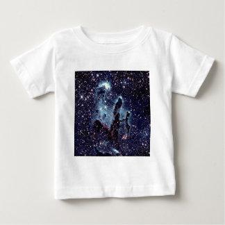 Pillars of Creation Nebula Blue Slate Baby T-Shirt