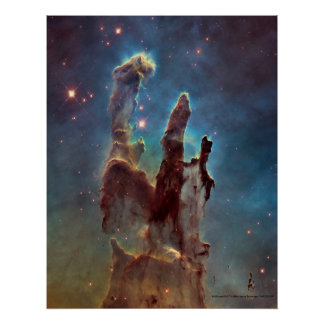Pillars Of Creation Print Poster