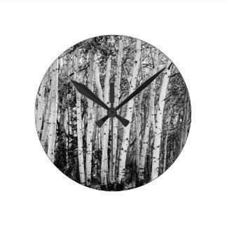 Pillars Of The Wilderness Round Clock
