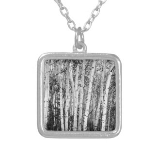 Pillars Of The Wilderness Silver Plated Necklace