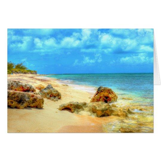 Pillory Beach Greeting Card