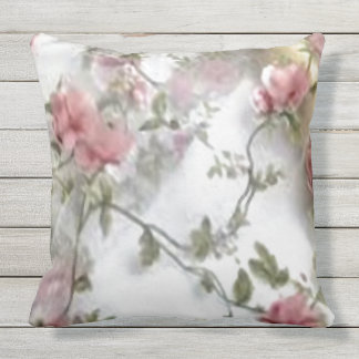 """pillow, 20"""", floral, pattern, custom outdoor cushion"""