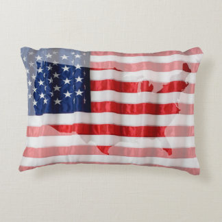 Pillow-American Flag Decorative Cushion