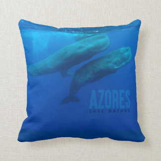 """Pillow """"Azores love nature """""""