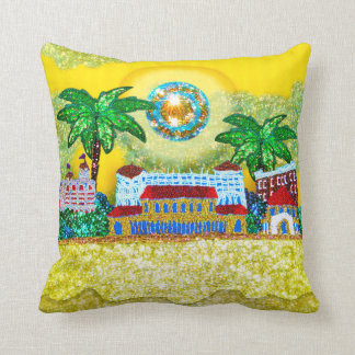 Pillow | Bondi Beach Paradise ( Yellow)