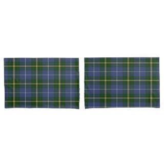 pillow cases   blue Nova Scotia Tartan plaid