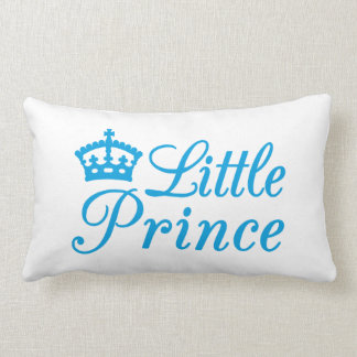 Pillow design little prince, with blue crown cushions