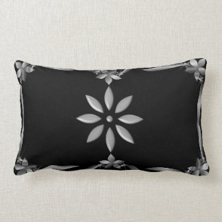pillow-Elegant design in silver-Home Design Lumbar Cushion