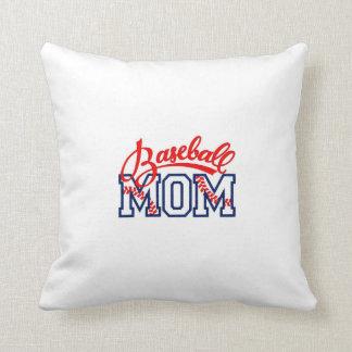 pillow for a baseball mom