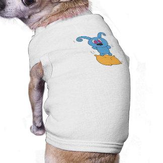 Pillow Jump Rolly Dog T-Shirt