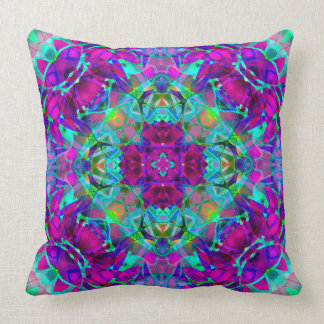 Pillow kaleidoscope Crystal Abstract G16