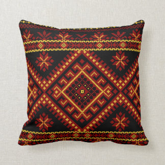 Pillow Large Ukrainian Cross Stitch Embroidery