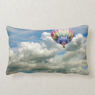Pillow (lumbar) - Hot air balloon in clouds