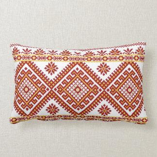 Pillow Lumbar Ukrainian Cross Stitch